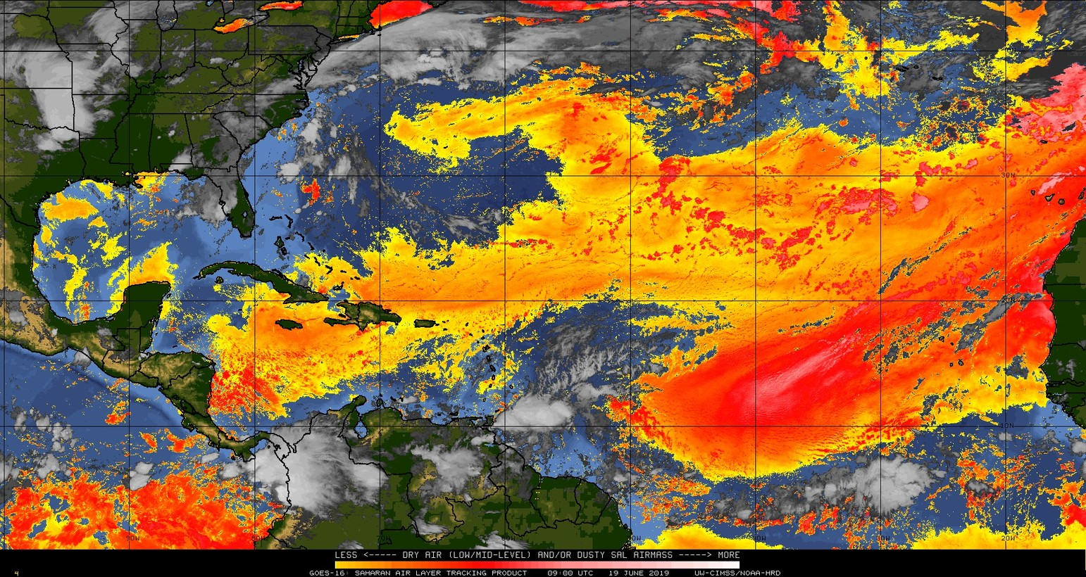 Increase Saharan dust expected this week - Jamaica Weather